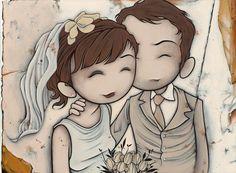 Kurt Halsey Wedding Illustration