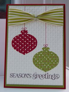 Julie's Japes - An Independent Stampin' Up! Demonstrator in the UK: Christmas Club Cards