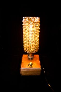 NEW HANDMADE WOODEN IRON HUNG CHAINS FLOOR DESK LAMP LIGHT Lamp Light, Light Bulb, Floor Desk, Handmade Wooden, Desk Lamp, Chains, Iron, Flooring, Home Decor