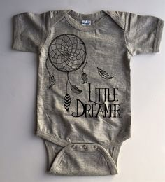 Whether your baby is a dreamer, a brave warrior, a wildflower, or the newest member of your tribe - we have a special bodysuit just for them!