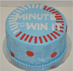 Perfect Minute to Win it Cake!