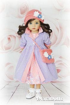 Моя Нануля и наша весенняя коллекция / Коллекционные куклы Дианы Эффнер, Dianna Effner / Бэйбики. Куклы фото. Одежда для кукол