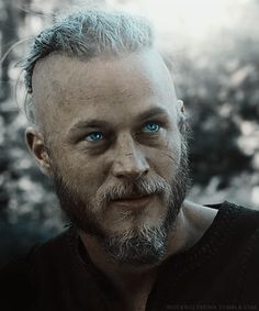 Travis Fimmel his eyes though