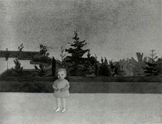 © Vlasta Vostřebalová Fischerová - Dítě v parku Painting, Painting Art, Paintings, Painted Canvas, Drawings