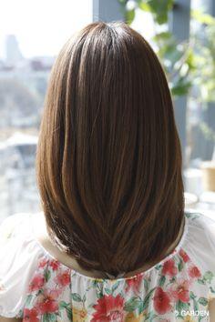 The latest hair catalog proposed by GARDEN Haircuts Straight Hair, Haircuts For Medium Hair, Long Bob Hairstyles, Medium Hair Cuts, Long Hair Cuts, Medium Hair Styles, Short Hair Styles, Haircut For Medium Length Hair, Asian Hair