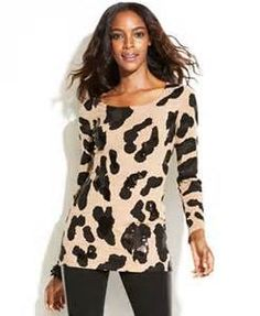animal print tops and sweaters - Yahoo Image Search Results