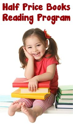 Half Price Books Reading Program! {Kids can earn a Free 5.00 gift card!} #kids #summer #reading