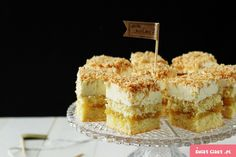 Cream Cake, International Recipes, Tiramisu, Cheesecake, Coconut, Baking, Breakfast, Ethnic Recipes, Cook