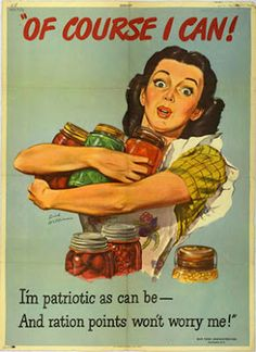 "The Daily Glean: ""Beans Are Bullets"": vintage wartime food posters and patriotism"