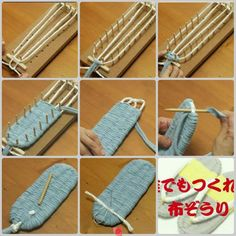 """Make Japanese sandals - Japanese sandals - #diy, #japanesesandals [   """"Make Japanese sandals - a different way to shape them. These can be made with cloth, paracord, or anything you can weave into a shape."""",   """"how to make japanese woven slippers - Google Search"""",   """"tkana podeszwa japonek na Stylowi.pl"""",   """"Most inspiring pictures and photos!"""",   """"fabric woven flip flops [ """" 