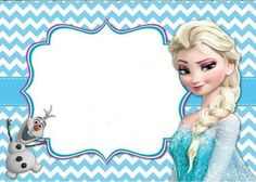 Resultado de imagen para PINTEREST convite frozen