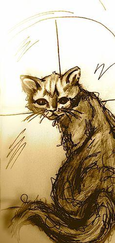 Little cat Artsy, Cat, Cat Breeds, Cats, Kitty, Serval Cats