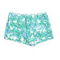 Pre-owned Madewell Shorts ($17) ❤ liked on Polyvore featuring shorts, green, madewell shorts, madewell and green shorts
