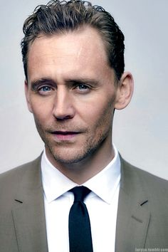 Tom Hiddleston. Edit by larygo.tumblr
