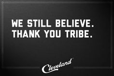 Thank You Cleveland Indians!
