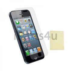 iPhone 5 Displayschutzfolie Glasklar iPad Zubehör, iPhone Zubehör und iPod Zubehör || Gut und Billig