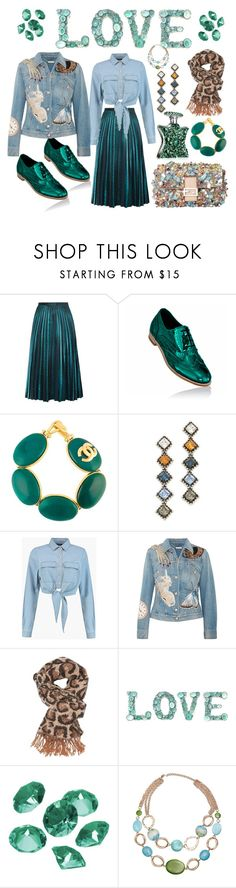 """""""Let's go out"""" by ellenfischerbeauty ❤ liked on Polyvore featuring Chanel, DANNIJO, Boohoo, Alexander McQueen, Charlotte Russe, Blue La Rue, Mixit and Bond No. 9"""