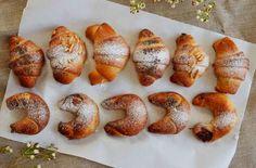 kynuté svatomartinské rohlíčky (a další chlebové recepty) Bagel, Baked Potato, Potatoes, Bread, Meals, Baking, Ethnic Recipes, Food, Buns