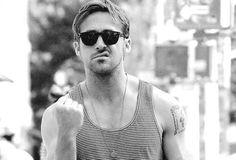 Ryan Gosling being sexy.  Like a boss!