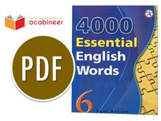 Jul 10, 2019 - 4000 Essential English Words 6 PDF Download Free Book Provides a publication having 4000 Important Vocabulary Words for all language assessment test planning you can download 4000 Essential English Words PDF from the given link below free of cost. The 600 words in each book of this series along with the additional target words presented […] English Word Book, Learn English Grammar, English Vocabulary Words, Free Books, Good Books, Test Plan, High Frequency Words, Pin On, Secondary School