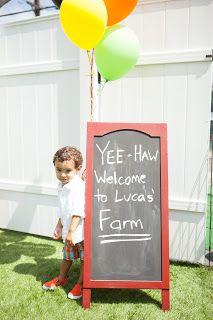 Barnyard Birthday Party Ideas