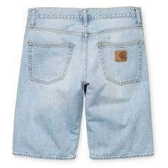 Carhartt WIP Klondike Short II - Blue Blast (Washed)