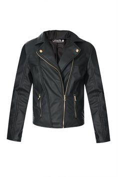 I just love the edge that a Leather Jacket lends to an outfit!