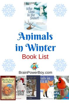 How do animals survive the winter? Where do they find food? Find out with this Animals in Winter: annotated book list. (Great illustrations and wonderful books!)