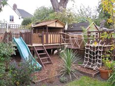 Stunning Outdoor Playground Areas Ideas For Child 07 Outdoor Play Spaces, Kids Outdoor Play, Backyard For Kids, Backyard Projects, Backyard Patio, Backyard Play Areas, Backyard Ideas, Childrens Play Area Garden, Play Yard