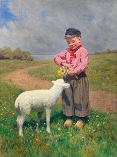Karl Feiertag * (Austrian, Klosterneuburg 1874-1944).