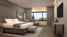 Existen muchas maneras de decorar las recámaras con lámparas e iluminación. Por ello, en el libro de hoy, veremos diseños de lámparas ideales para la recámara. ¡Toma nota de estas ideas de iluminación en la decoración de las recámaras! #Iluminación #Recámara Hotel Bedroom Decor, Master Bedroom Interior, Modern Master Bedroom, Bedroom Retreat, Bedroom Inspo, Bedroom Pop Design, Bed Design, Bedroom Layouts, Cool House Designs