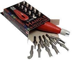 Linómetsző készlet - ESSDEE L10S - műanyag nyél, 10 kés az Úristen! Festek! Művészellátó bolt és webáruházból.