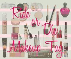 La Piecita de Chivi :   Chii-Tag! : Ride or Die Makeup Tag.