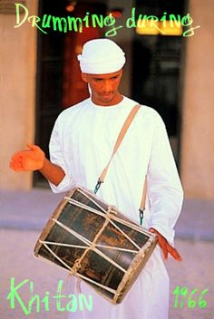 Drummer at Rizq's circumcision party.