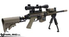 custom paint ball guns | Series MK3 SRT Sniper Desert Ops Custom