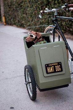 Bricolaje ciclista: Cómo fabricar un sidecar para perros | TodoMountainBike