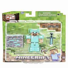 Minecraft Diamond Armored Steve