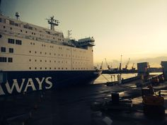Our #DFDS Seaways #ferry to Amsterdam