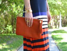 GiGi New York   Orange All In One Clutch   Bishop & Holland Lifestyle Blog