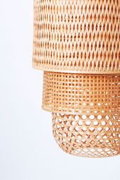 Renewable Bamboo Lamp | Duc Phong | Sustainable Design Product Ranges | From Vietnam | To be launched at Ambiente Frankfurt trade fair | February 7-11, 2014 | booth in foyer in front of hall 10.1 | Joint project by CBI, Vietcraft, SPIN | Photo Khanh Nguyen |