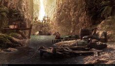 Hideaway, amazing 3D environment  Art by Alberto Trujillo