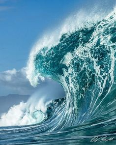 Gorgeous wave