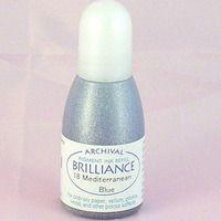 Brilliance Re-Inker - Mediterranean Blue