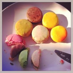 Macarons from Pierre Herme Tokyo, can't forget the taste of Céleste. Macarons, Tokyo, Forget, Sweets, Canning, Breakfast, Food, Sweet Pastries, Tokyo Japan