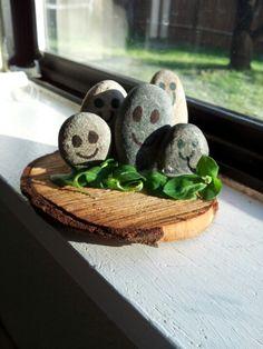 Cute kid craft...Rock family
