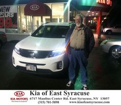 I leased a 2015 Kia Sorento from Kia of East Syracuse and Matt Sorar. So far, I had a good experience here. Matt was able to get me in a fully loaded Sorento plus take advantage of our 0% interest financing. I've been very pleased and will continue to come here in the future. Kelli was very well spoken and helpful as well. - David Egloff, Monday, November 17, 2014 http://www.kiaofeastsyracuse.com/?utm_source=Flickr&utm_medium=DMaxxPhoto&utm_campaign=DeliveryMaxx