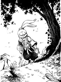 Tribute to Usagi Yojimbo - Stan Sakai.
