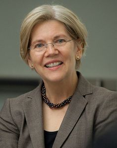 Elizabeth Warren (D-MA), we are counting on you to watch our backs! Please don't let them wear you down. Thank you!