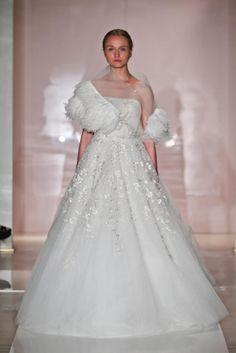 Reem Acra 2014 Fall Collection - Designer Wedding dresses 2014