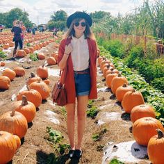 """""""Pumpkin patchin' in Florida! Popping in for a wedding ❤️"""""""